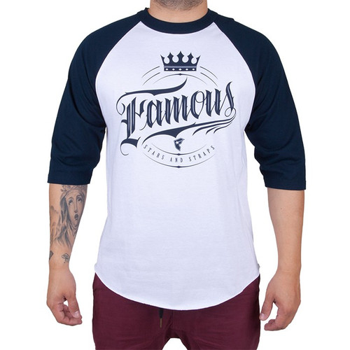 Famous Stars and Straps Royal Court Raglan