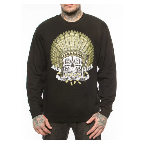Rebel8 Press Your Luck Crewneck