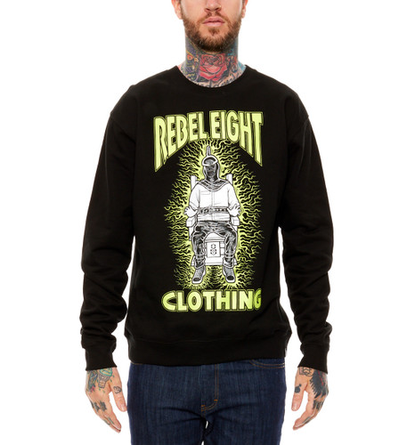 Rebel8 Fried Crewneck
