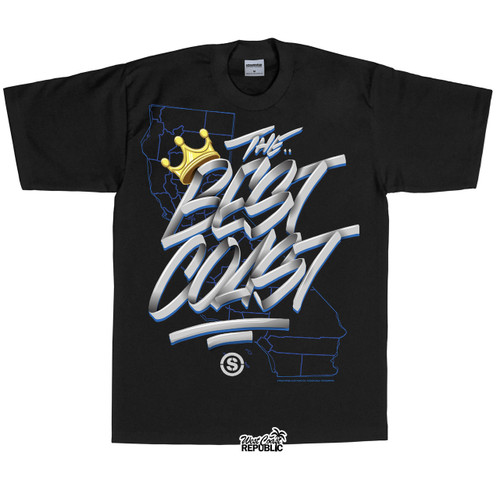 Streetwise Best Coast T-Shirt BLK