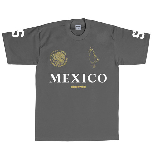 Streetwise Narco Polo T-Shirt (Charcoal)