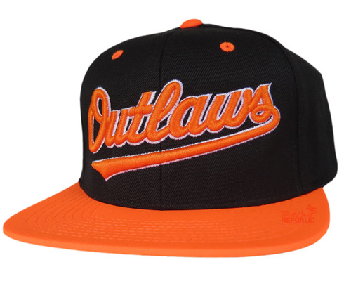 Streetwise Outlaws Snapback (Blk/Org)