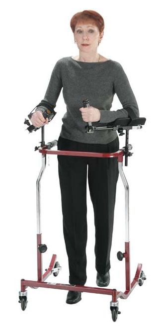 Gait trainers for special needs adults.