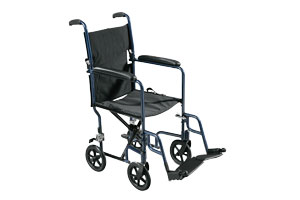 Lightweight and affordable aluminum wheelchairs manufactured by Drive Medical and other top mobility equipment experts.