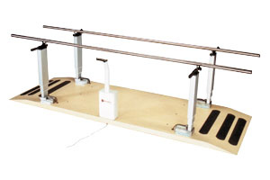 Ambulation training products like parallel bars, exercise stairs and other walking aids