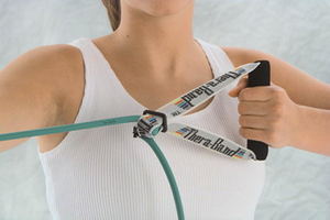Resitance tubing of all colors and weights available from Cando and Thera Band