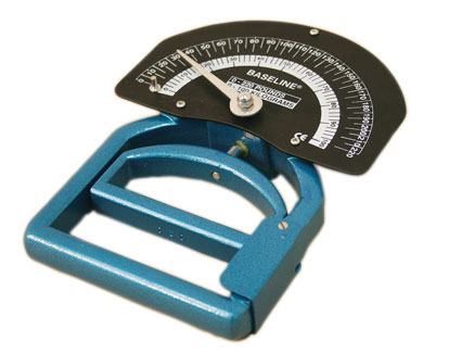 Smedley style hand grip and strength testing dynamometer