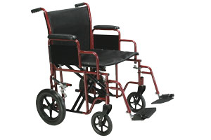 Drive medical steel wheelchairs and transport chairs for patient mobility.