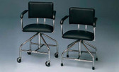 Adjustable Lo-Boy Chairs for Whirlpool Spa Physical Therapy