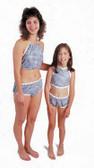 Dipsters Limited Use Womens Bib Top/Bikini Patientwear - Dozen