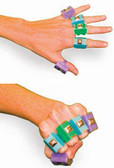 FingerWeights 10-Finger Set Fingers Exerciser