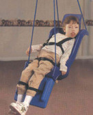 Adolescent Size Skillbuilders Full Support Swing Seat With Pommel - Rope Attachment