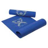"CanDo® Exercise Mat - yoga mat - Blue, 68"" x 24"" x 0.25"""
