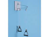Economy Wall Mounted Overhead Pulley Exerciser Hausmann S-950