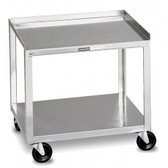 Mobile Stand for Electrotherapy (2-Shelf Stainless Steel)