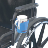 Clamp-on Cup Holder for Wheelchairs (Accessory)