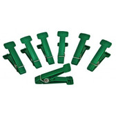 Replacement Pins for Graded Pinch Finger Exerciser (Green, Medium, 7 pieces)