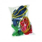 CanDo® Hand Exerciser - Additional Latex Bands - 25 bands (5 each: tan, yellow, red, green, blue)