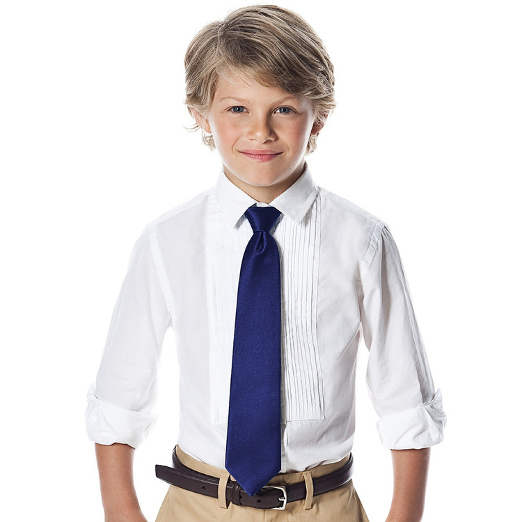 """Boy's 50"""" Duchess Satin Neck Tie"""