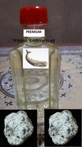 Premium Whitish AMBERGRIS oil-non alcoholic (12cc)