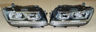 NEW OEM VW TIGUAN FROM 2016 LED HEADLIGHTS 5NB941035B 5NB941036B