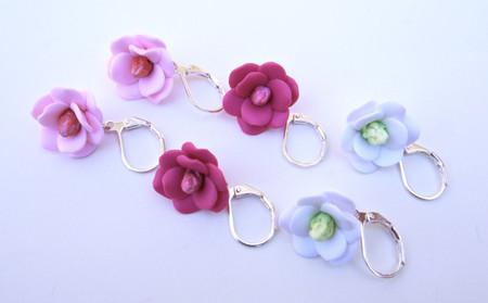 Southern Magnolia  Simple Dangle Earrings