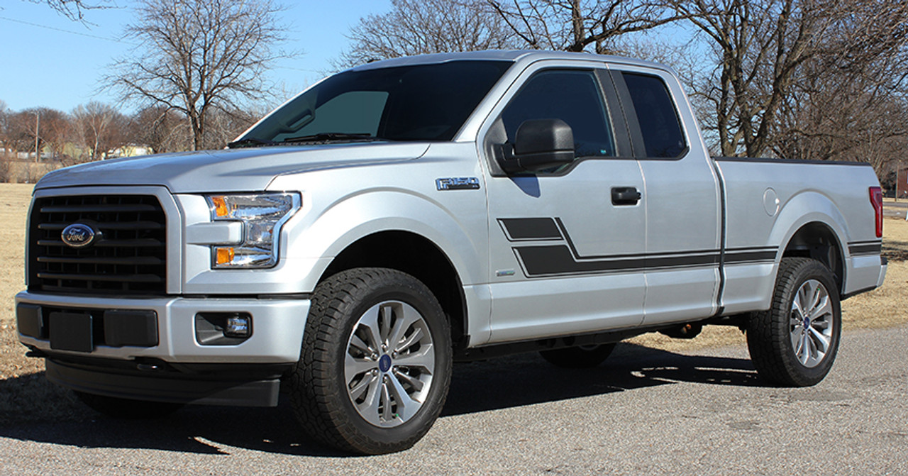 ROUTE KIT Ford Truck Hood Decals M FastCarDecals - Vinyl truck decals