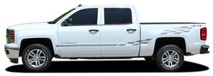 CHAMP Chevy Truck Stripes Graphic Decals | 2018-2013 Chevy Silverado / GMC Sierra