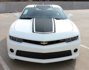 2014-2015 BEE 3 Chevy Camaro Decal Hood Stripe Vinyl Roof Graphic Kit