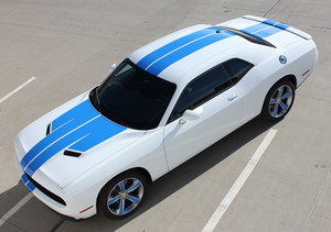 15 WING RALLY Dodge Challenger Custom Stripes Graphics | Challenger 2015-2018