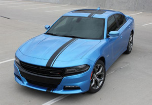 E RALLY Dodge Charger Decal Package Vinyl Stripe Graphics | 2015-2018 Dodge Charger