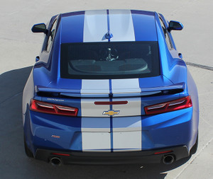 TURBO RALLY Stripes for 2016 Camaro Chevy 2016-2018 Racing Decals 3M
