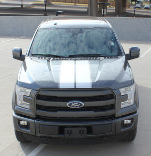 F RALLY Ford F150 Racing Stripes Vinyl Graphic Decals 3M | Ford Truck 2015-2018