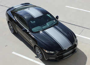CONTENDER 2015-2018 Ford Mustang Stripes Decals Center Graphics kit