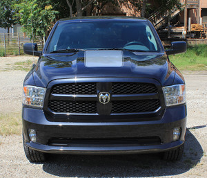 RAGE HOOD Stripes for Dodge Ram 2009-2018 Hood Decal Vinyl Graphics