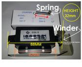 Tally Counter Mechanical 6 Digit Counter Manual - each