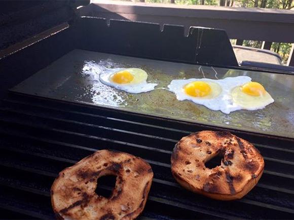 Breakfast on the Griddle