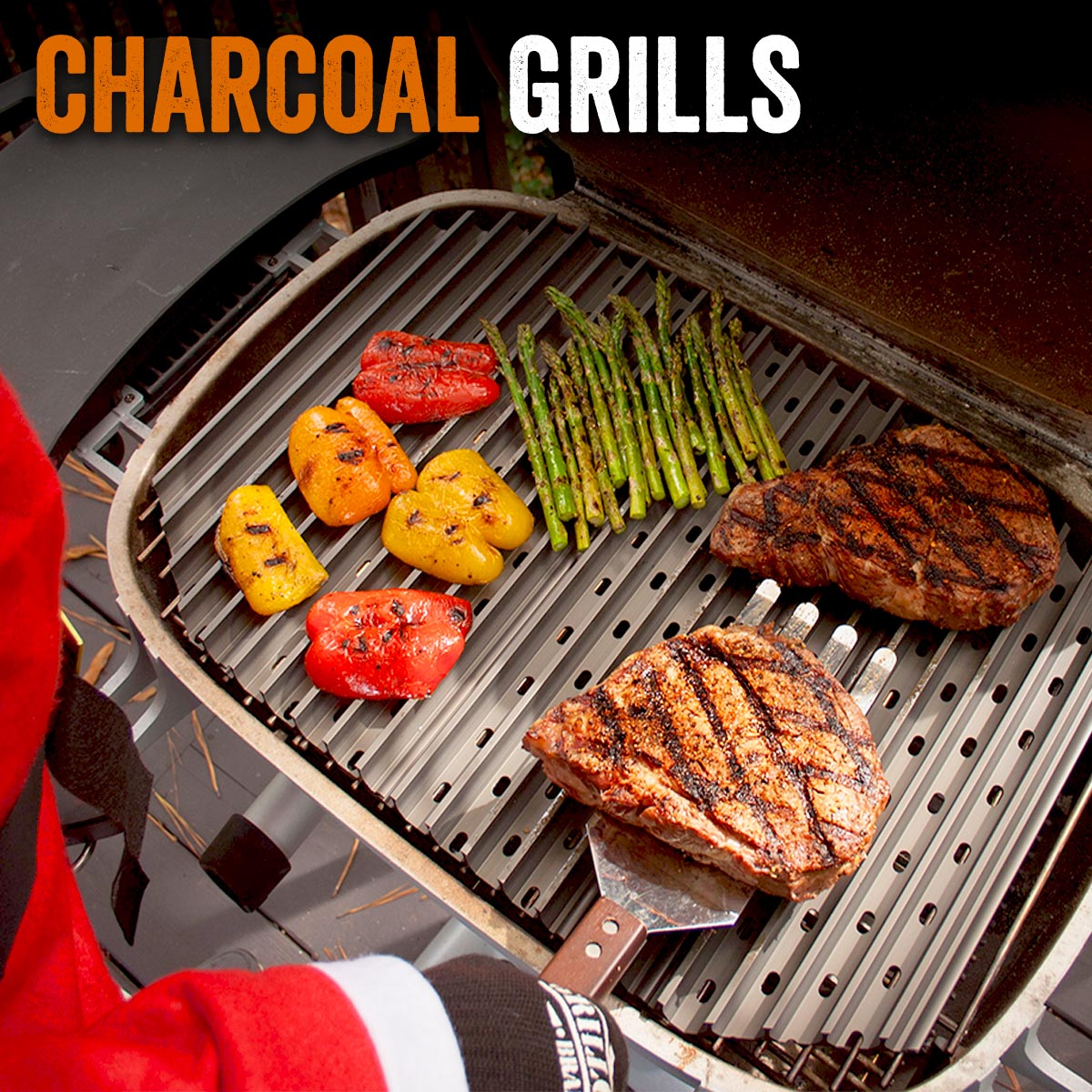 GrillGrates for Charcoal Grills