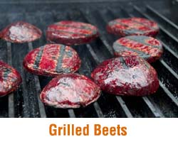 grilled beets