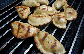Grilled Potstickers