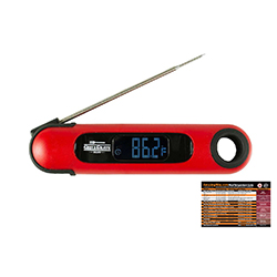 Temp and Time Thermometer