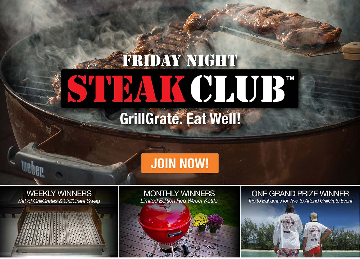 Join the Friday Night Steak Club