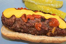 Stuffed Burger Dogs