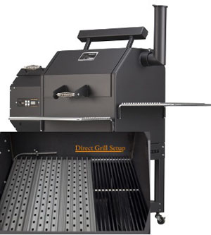 grillgrates primarily apply to the direct grilling aspect of pellet grills - Pellet Grill
