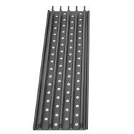 Single GrillGrate panels are available in 7 different lengths