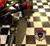 F3 Black Dymond Gripper Highway Brackets - Pegs (LG-1096-1076)(ACCENT CUT)