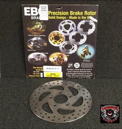 EBC Brake Rotors (Rear) (LGA-MD854)