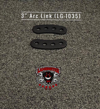 """3"""" Arc Links (LG-1035) by Lamonster Will work with all Lamonster Hwy Brackets."""