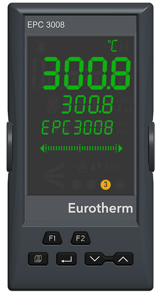 EPC3008 1/8 DIN Process and Temperature Controller