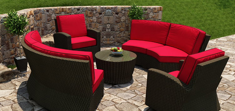 Image modern wicker patio furniture Indoor Mw Top Right Replacement Cush Better Homes And Gardens Modern Outdoor Furniture And Outdoor Wicker Modern Wicker Furniture